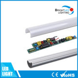 Ce RoHS LED T8 Tube met Fixtures 18W 1.2m voor Indoor