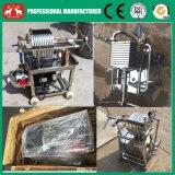 Platten-u. Rahmen-Schmierölfilter-Presse-Maschine der kleinen Kokosnuss-2016 rostfreie