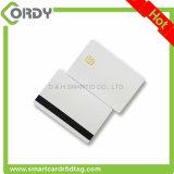 smart card branco do contato do PVC do espaço em branco da microplaqueta sle4442