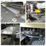 Máquina de perfuração da placa do CNC para a chapa de aço do perfurador/a imprensa de perfurador da torreta/máquina hidráulicas do perfurador para o calefator de água solar