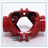 Cruz mecánica roscada hierro dúctil de 300 PSI con la aprobación de FM/UL/Ce para la lucha contra el fuego