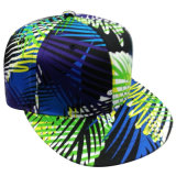 花ファブリックによって合われる野球帽(NE030)
