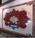 1800*1200mm Wohnzimmer-moslemische Art-goldene Teppichboden-Fliesen