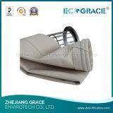 Sacchetto filtro non tessuto del filtrante della polvere del laminatoio del cemento