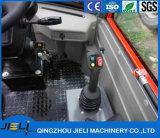 E3エンジンを搭載する掘削機の/Miniの車輪のローダーZl08が付いているJieliの車輪のローダー