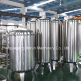 Completare il sistema di trattamento di acqua minerale/pianta acquatica