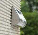 Indicatore luminoso esterno di movimento del giardino del sensore del supporto solare impermeabile chiaro solare della parete da vendere