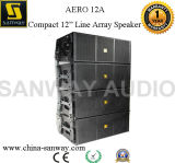 Aero 12A Autoamplificado cuadro Array Mini Line