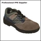 Zapatos de seguridad baratos, precio de cuero de los zapatos de seguridad, cargadores del programa inicial de la seguridad