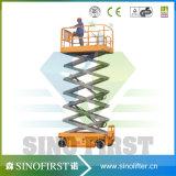 plate-forme automatique de levage de fonctionnement de 6m-12m