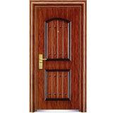高品質の単一の葉の鋼鉄ドア