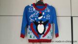 Puente de acrílico del pingüino de los muchachos - verdad el suéter hecho punto