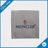 Декоративным изготовленный на заказ ярлык одежды Overlock сплетенный полиэфиром