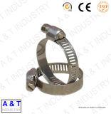 Collier de la conduite européen de type 12.7mm, collier de la conduite d'acier inoxydable d'entraînement de vis sans fin