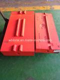 Barra de soplado en material de masa, piezas de desgaste de la trituradora de impacto