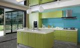 Mobílias acrílicas da cozinha do teste padrão (zv-025)
