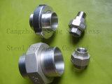 Unión DIN2999 Bw/M plano de la instalación de tuberías de acero inoxidable 316