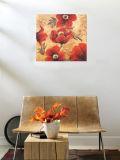 Peinture à l'huile décorative peinture florale (129)