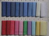 Tela tejida colores llanos de Oxford para los pañuelos cuadrados Pocket