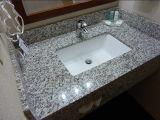 Tiger-Haut-weiße Granit-Küchecountertop-Badezimmer-Eitelkeits-Oberseite