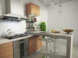 E1 grado melamina Junta modular de muebles de cocina en la cocción de acabado (ZG-040)