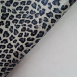 Garments를 위한 Leopard 대중적인 Graining PU Imitation Fake Synthetic Leather