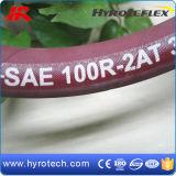 Tuyau en caoutchouc hydraulique de pression du tuyau SAE 100r2 at/DIN En853 2sn/