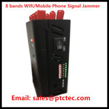 8 antenne 3G 4G Wif VHF UHF Mobile Phone Portable Jammer