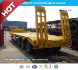 Hochleistungs16 Meter-niedriger Bett-Sattelschlepper-oder Lowboy LKW-halb Schlussteil