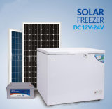 Frigorifero solare del congelatore di CC di 200 litri con la durata della vita lunga