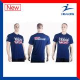 Sport-Abnützung mit gutem Entwurfs-Bildschirm-Drucken-T-Shirt