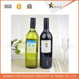 Autoadesivo autoadesivo personalizzato di stampa del contrassegno del vino di carta trasparente impermeabile
