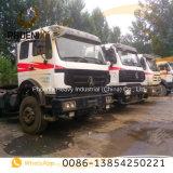 HoofdVrachtwagen van de Tractor Beiben van de lage Prijs de Gebruikte 6X4 met de Technologie van Benz van Mercedes voor Afrika