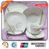 Vaatwerk het van uitstekende kwaliteit van het Porselein 30PCS