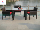 Rotin Furniture Table Corner pour Outdoor avec Aluminum