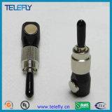 El surtidor profesional en los adaptadores ópticos de fibra