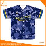 Healongの安く卸し売りブランク女性のソフトボールの野球のジャージーのワイシャツ