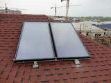Sistema de aquecimento solar rachado de água