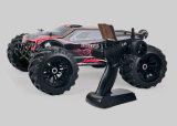 4WD 1/10 de carro elétrico sem escova da escala RC de controle remoto