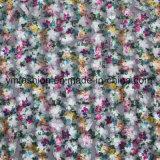 Los colores del doble 100% poliéster de encaje tejido de la prenda de vestir para Accessorie 0006