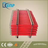 Высокие плиты прилива цилиндра стальной отливки марганца