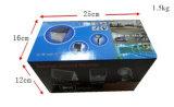 Câmera impermeável P2p DVR de WiFi da luz de inundação do diodo emissor de luz para a iluminação e a segurança Home