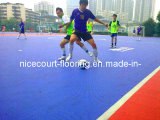 Porös u. Grid Type Outdoor Futsal Court Flooring für All-Wetter Use (Futsal- Gold/Silver/Bronze)