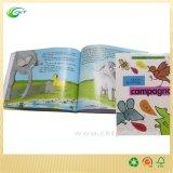 Libro de niños de encargo de la impresión con los cuadros de los sonidos (CKT-BK-297)