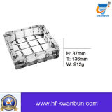 Produtos vidreiros Kb-Hn8049 do cinzeiro de vidro da alta qualidade