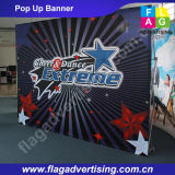 Складная рекламируя изготовленный на заказ торговая выставка хлопает вверх стена