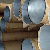 6063 T5 T6 sacaron tubo del aluminio del diámetro grande