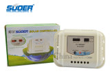 Suoer Hot Sale Solar Controlador 12V 20A controlador de carga solar para uso doméstico com preço de fábrica de alta qualidade (ST-G1220)