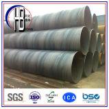 Tubo d'acciaio saldato spirale per fabbricazione del gas e del petrolio