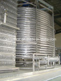 Замораживатель еды мороженного спиральн быстро (1500kg/h)